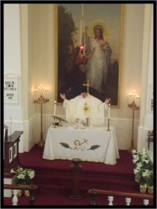 Celebrating Holy Communion on Easter Sunday